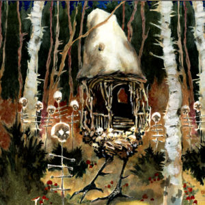 House-of-Bones-10-x-10-watercolor Drew Tucker Illustration